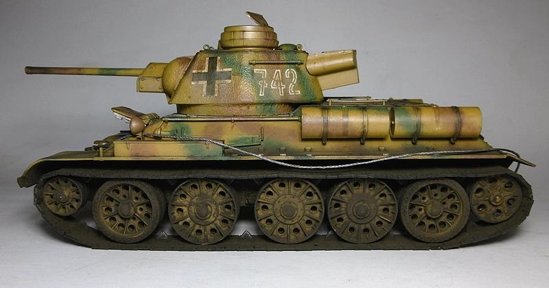 [ ACADEMY 1/35 ] T-34/76 CAPTURE PAR LES ALLEMANDS 17011307500021038614770887
