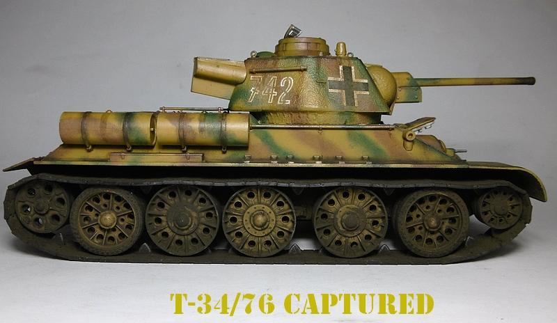[ ACADEMY 1/35 ] T-34/76 CAPTURE PAR LES ALLEMANDS 17011307503321038614770888