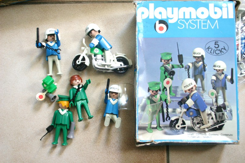 lot de 3 boites de playmobil system klicky geobra vintage ref 3324 3232 3407 ann ebay. Black Bedroom Furniture Sets. Home Design Ideas