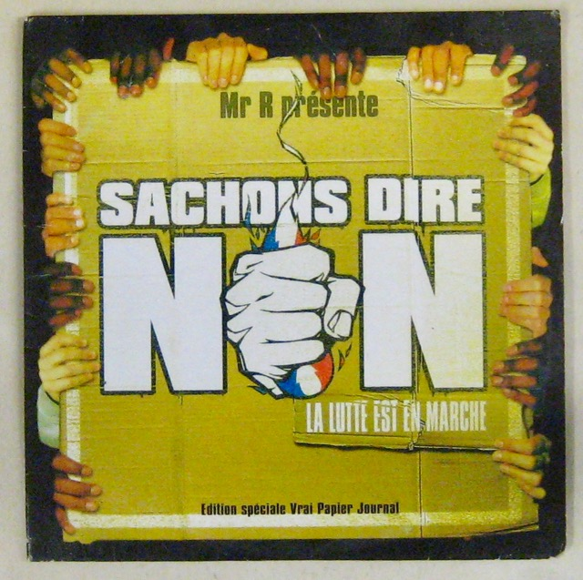 MR R PRÉSENTE - Sachons dire non - CD single
