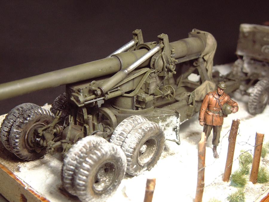 M4 High Speed Tractor - 1/35e [Hobby Boss] + Long Tom [AFV Club] 1701190715484769014784512