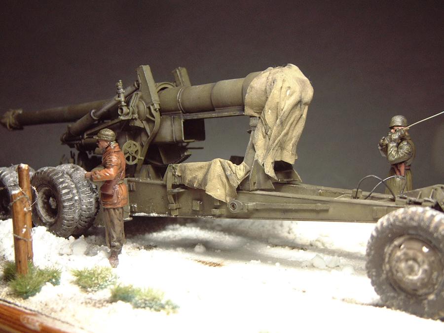M4 High Speed Tractor - 1/35e [Hobby Boss] + Long Tom [AFV Club] 1701190716184769014784522