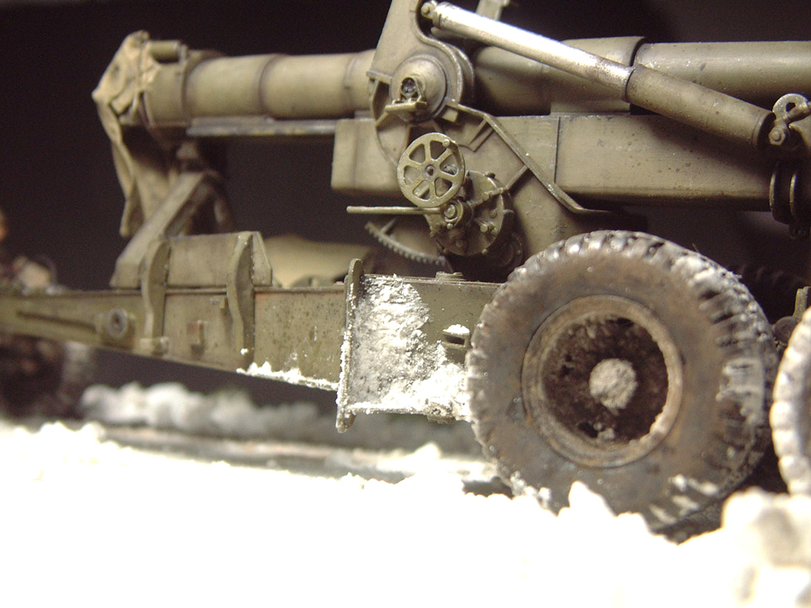 M4 High Speed Tractor - 1/35e [Hobby Boss] + Long Tom [AFV Club] 1701190717374769014784536