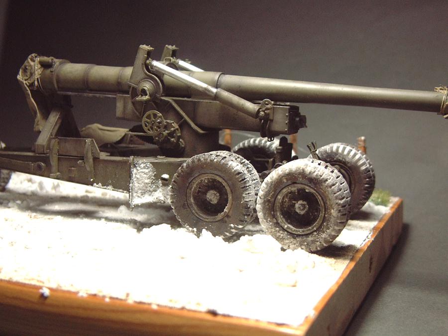 M4 High Speed Tractor - 1/35e [Hobby Boss] + Long Tom [AFV Club] 1701190717484769014784538