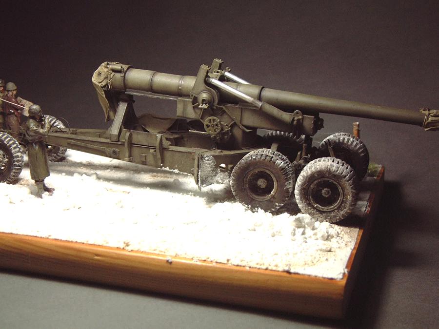 M4 High Speed Tractor - 1/35e [Hobby Boss] + Long Tom [AFV Club] 1701190718004769014784548