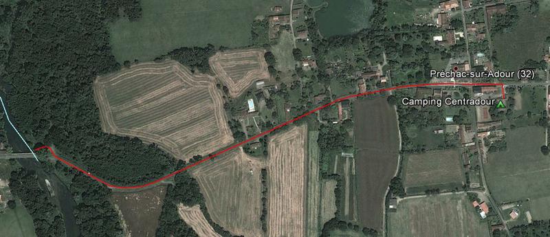 DSCF6714 portage Préchac 1 km