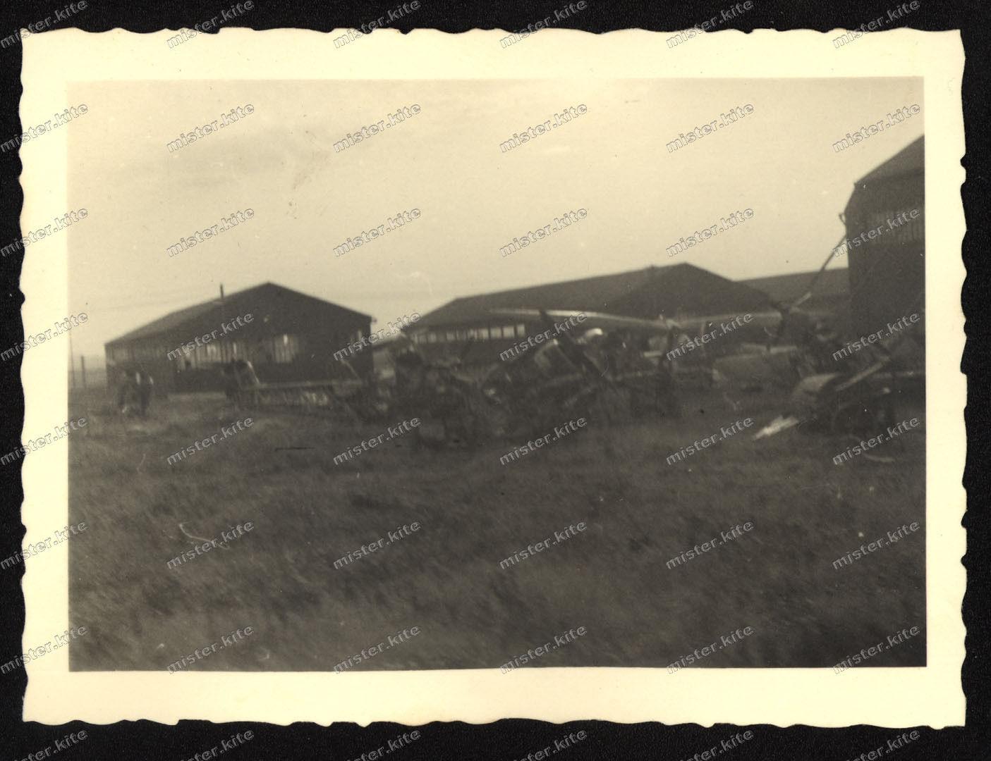 Aérodrome d'Amiens juin 1940