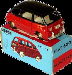 Fiat 600 Multipla Mercury