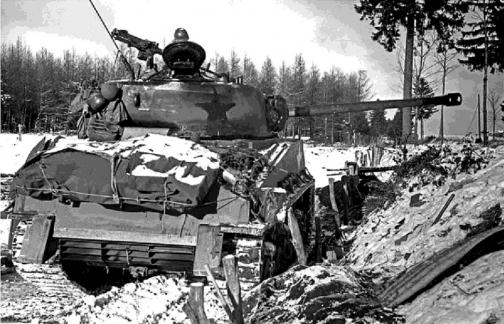 Sherman - Sherman Bataille des ardennes 17012306123016515014794035