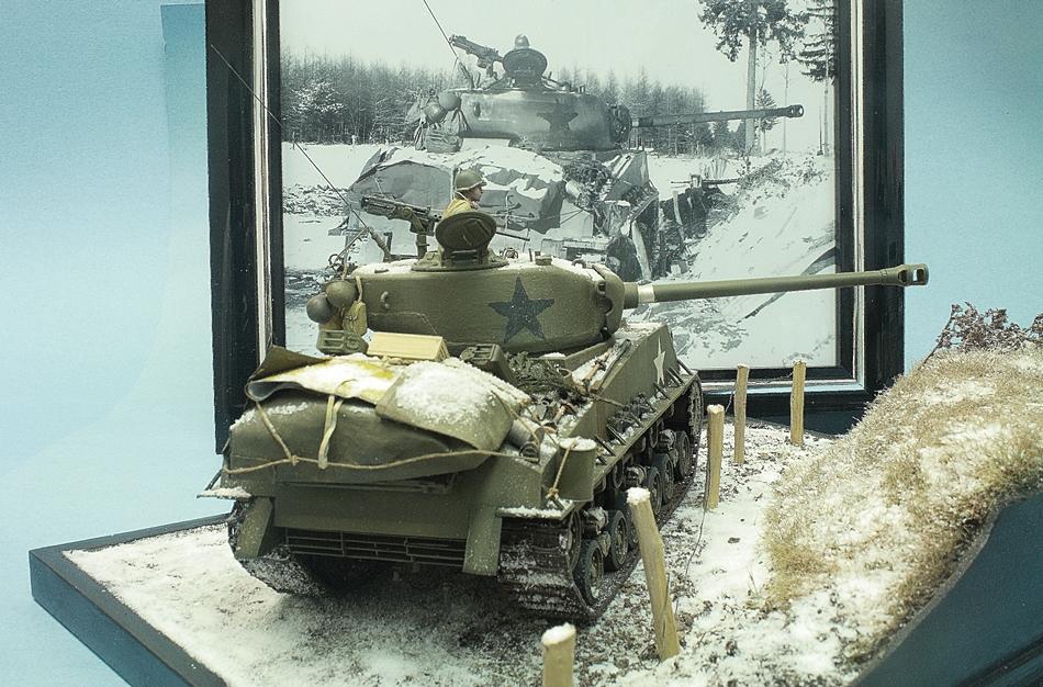 Sherman - Sherman Bataille des ardennes 17012306125316515014794036