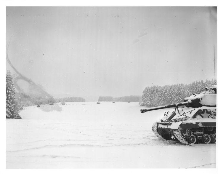 Sherman - Sherman Bataille des ardennes 17012306125316515014794037