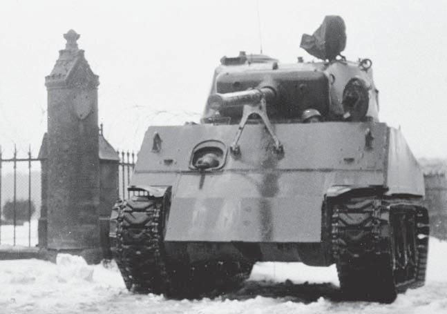 Sherman - Sherman Bataille des ardennes 17012308535316515014794336