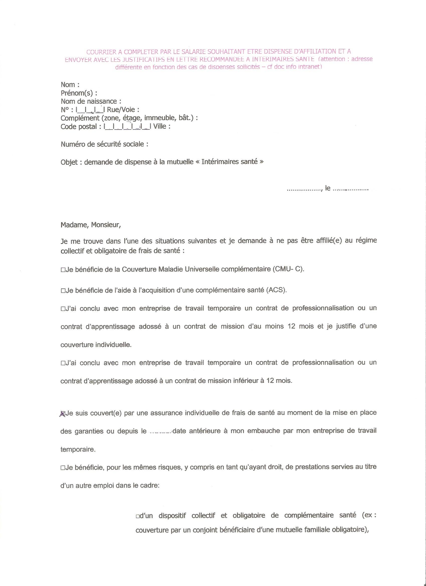 Top Régime obligatoire INTÉRIMAIRE SANTÉ - Page 6 - Net-Litiges.fr CN64