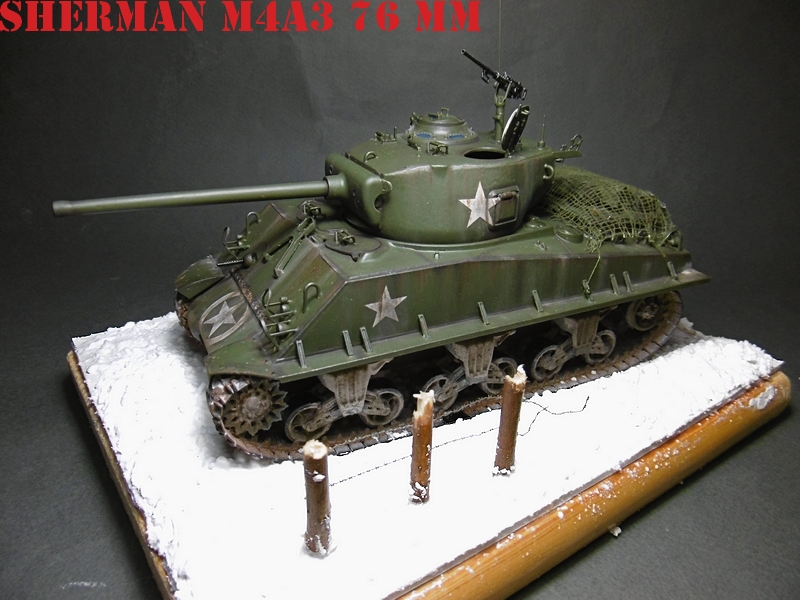 [ACADEMY 1/35 ] SHERMAN M4A3 76 MM  17020108370821038614818656