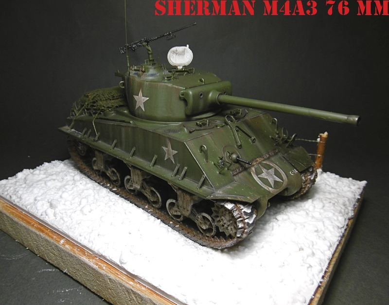 [ACADEMY 1/35 ] SHERMAN M4A3 76 MM  17020108371321038614818657