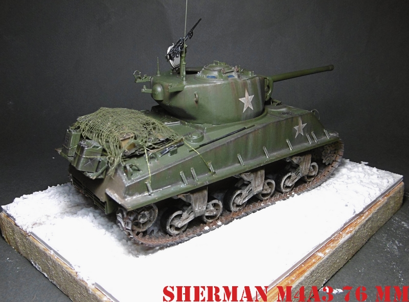 [ACADEMY 1/35 ] SHERMAN M4A3 76 MM  17020108371821038614818658