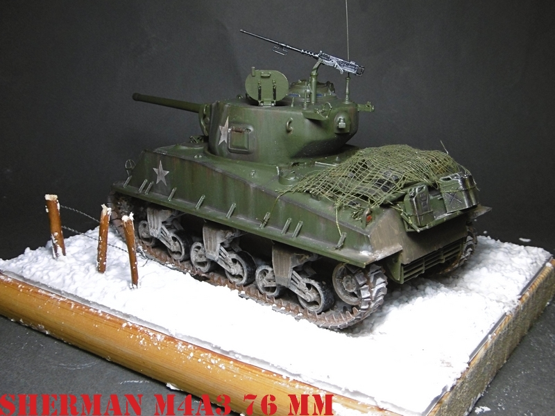 [ACADEMY 1/35 ] SHERMAN M4A3 76 MM  17020108372321038614818660