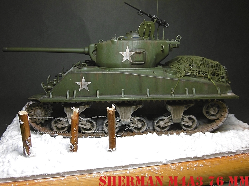 [ACADEMY 1/35 ] SHERMAN M4A3 76 MM  17020108372821038614818661