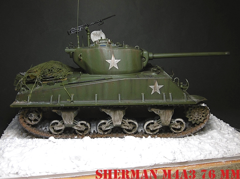 [ACADEMY 1/35 ] SHERMAN M4A3 76 MM  17020108373321038614818662
