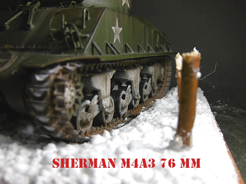 [ACADEMY 1/35 ] SHERMAN M4A3 76 MM  17020108380621038614818669