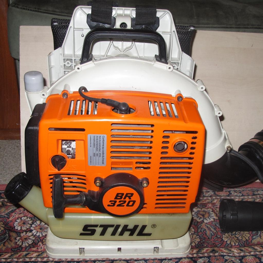 Souffleur de feuilles thermique br 320 stihl ebay - Souffleur de feuilles stihl ...