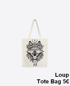 sacs - tote-bag-wolf-tb1601-s
